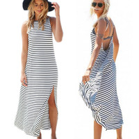 One Piece Sexy Women Summer Roper Dress  = 5988235777