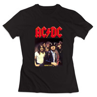 acdc band Clothing T shirt Women