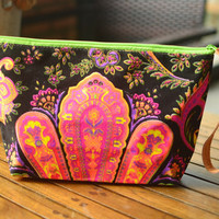 Handbags Clutch Bag Wrist let Tribal Cosmetic Bag Clutch Purse Hipster Bag Handbag Bag Nepali Hippie Boho Summer Hobo Yoga makeup organizer