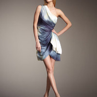 Alice + Olivia - Bree One-Shoulder Wrap Dress - Bergdorf Goodman