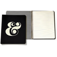 kate spade new york spiral notebook ampersand