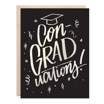 Lionheart Prints - ConGRADuations! Greeting Card