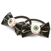 *MKL Accessories The Eyeball Bobbles Hairbow in Black : Karmaloop.com - Global Concrete Culture
