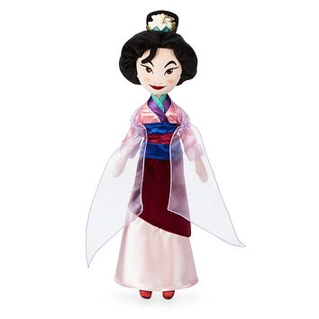 Disney 20th Anniversary Mulan Plush Doll Medium New with Tags
