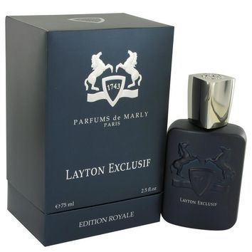 Layton Exclusif by Parfums De Marly Eau De Parfum Spray 2.5 oz