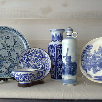 Blue and White Chinoiserie Sale