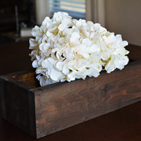 Wedding Centerpiece, Rustic Wedding Decor, Wood Planter Box, Rustic Table Decor, Home Decor, Table Centerpiece, Centerpiece Box, Flower Box