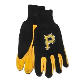 Pittsburgh Pirates - Adult Two-Tone Sport Utility Gloves