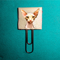 Sphynx Cat Planner Clip . Planner Clips Bookmarks, Planner Supplies Accessories. Bookmarks Page Planner.