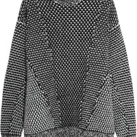 Stella McCartney Oversized wool and angora-blend sweater – 60% at THE OUTNET.COM