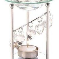 Iron Bejeweled Aromatherapy Essential Oil Warmer
