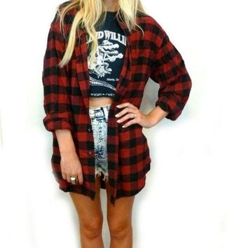 CREYONX5H Vintage Mystery Unisex Flannel Shirts, 80's 90's & Today Flannels, All Sizes