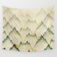 Mountain Mist Wall Tapestry by Rskinner1122