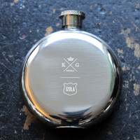 Limited Edition King and Grove 3 oz. Flask