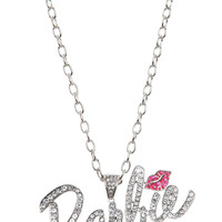 Barbie Pink Kiss Bling Necklace | Hot Topic