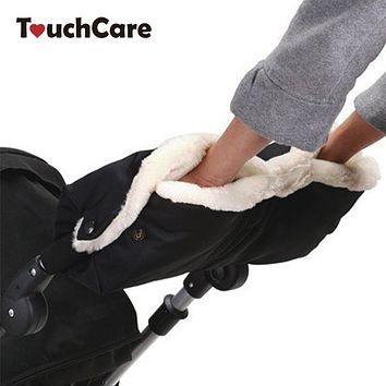 Baby Stroller Glove Winter Waterproof Anti-freeze Pram Hand Muff Baby Carriage Gloves Baby Buggy Clutch Cart Muff Accessories