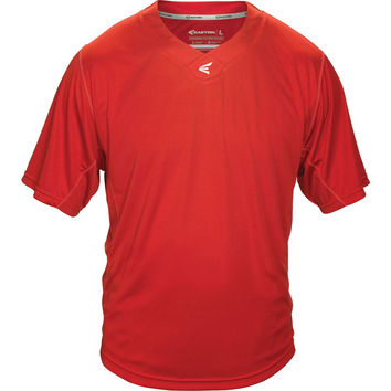 Easton M5 Homeplate Youth Baseball Jersey - Red