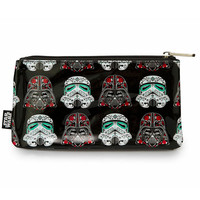 Star Wars Darth/Storm Sugar Skull Pencil Case by Loungefly (Black)