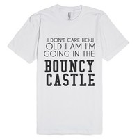 Bouncy-Unisex White T-Shirt