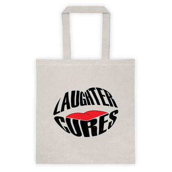 Laughter Cures Tote bag