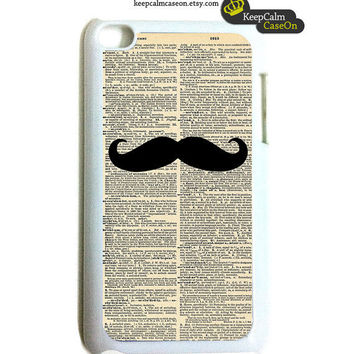 Mustache iPod Touch Case - iPod Touch 4G Case - iTouch Case Snap On Case
