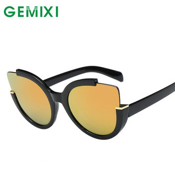 GEMIXI Aviator Sunglasses Women Mirror Driving Men Luxury Sunglasses Sun Glasses Shades Lunette Femme Glases #30 Gift 1pc