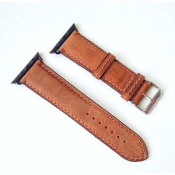 Apple Watch Band Cowhide Leather38mm 40mm 42mm 44mm