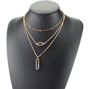 New Arrival Shiny Gift Stylish Jewelry Ladies Chain Necklace [6464832065]
