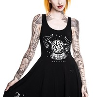 Piss Off Pay For Insult Skater Dress [B]