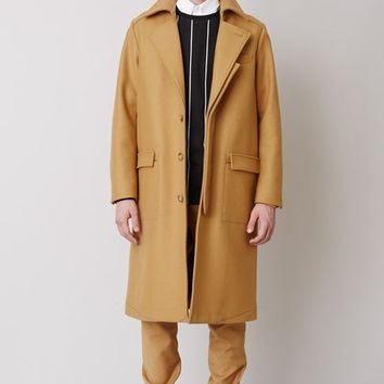 Opening Ceremony Compact Wool Duo Coat - MEN - Opening Ceremony - OPENING CEREMONY
