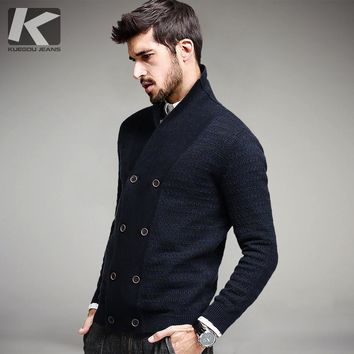 Men Wool Sweater Male Knitted Cardigan Sweaters Spring Autumn Leisure Sweater for Men