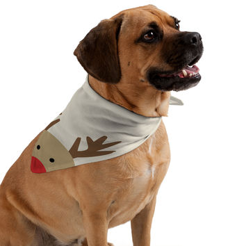 Allyson Johnson Reindeer Pet Bandana