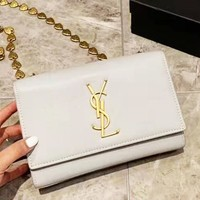 YSL Saint Laurent Fashion Joker Love Chain Envelope Bag Shoulder Messenger Bag Small Square Bag