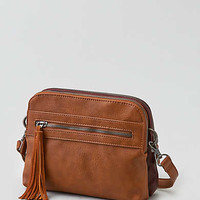 AEO Crossbody Panel Bag , Tan