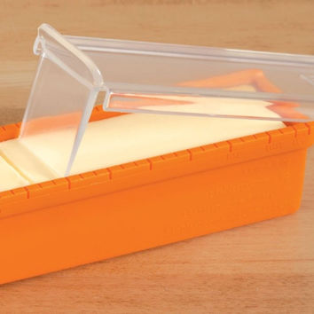 Butter keeper and Slicer Cutter Storage Container, Measure for Bread, Cakes, Cookies, Cookware Butter Dish, Dishwasher Safe