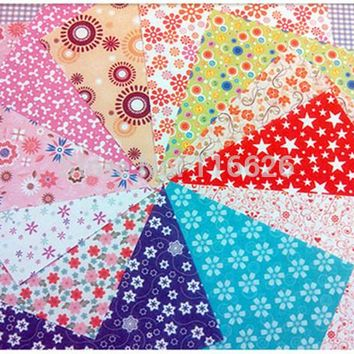140pcs/lot cheap floral pattern diy kids origami paper scrapbooking decoration background 14.5x14.5 mix 12 patterns
