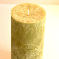 Aromatherapy Candle, Frankincense Essential Oil, 3x6 Natural, Handmade Pillar