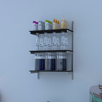 "24"" Wide Wall Mounted Shelving Hardware Only"