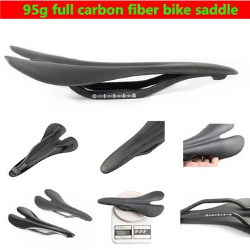 95g Carbon bike saddle Ultralight road cycling seat red mtb bicycle saddle rudis fox radar bike part accessories wilier cube D