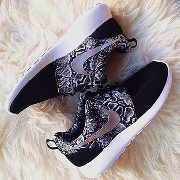Nike Roshe One Print Women Casual Running Sport Shoes Sneakers1