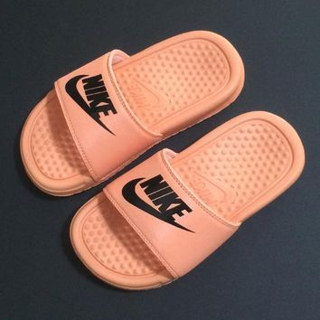 Nike Girls Boys Children Baby Toddler Kids Child Fashion Casual Slipper Shoes