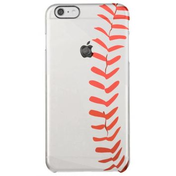 Baseball sport iPhone 6/ 6S Plus case Uncommon Clearly™ Deflector iPhone 6 Plus Case