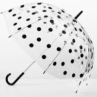 Polka Dot Bubble Umbrella