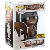 Funko Attack On Titan Pop! Animation Eren (Titan Form) Vinyl Figure Hot Topic Exclusive