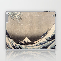 Hokusai the wave 1-hokusai,manga,fugi,japan,kanagawa,wave,edo,mount fuji Laptop & iPad Skin by oldking