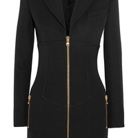 Balmain - Wool-crepe mini dress