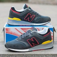 new balance 997 men sport casual n words multicolor sneakers running shoes-4