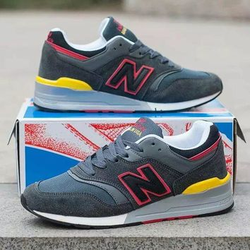 new balance 997 men sport casual n words multicolor sneakers running shoes-5