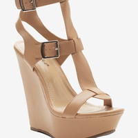 Vivi-23 Ankle Cage Wedge