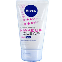 Nivea Extra White Makeup Clear Foam Facial Cleanser 100g